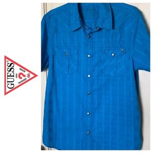 ⭐️Guess Button  Shirt-MEN#0094⭐️